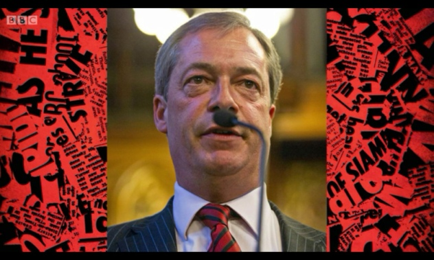 Nigel Farage Hitler