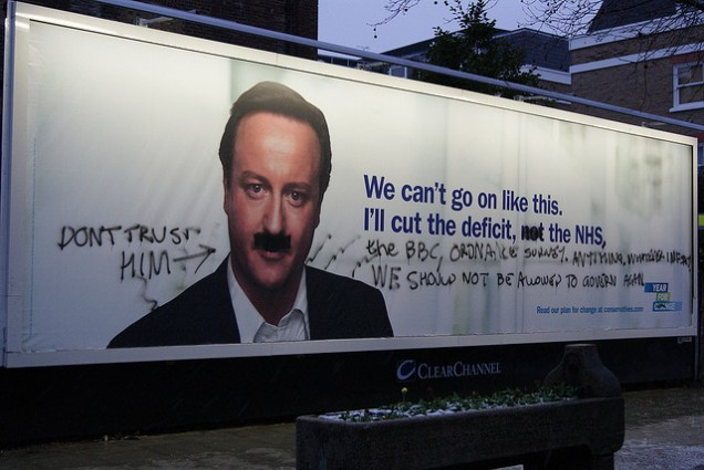 Anti Tory Graffiti