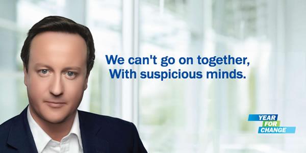 David Cameron Parody