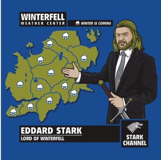 Starks Winter Is Coming